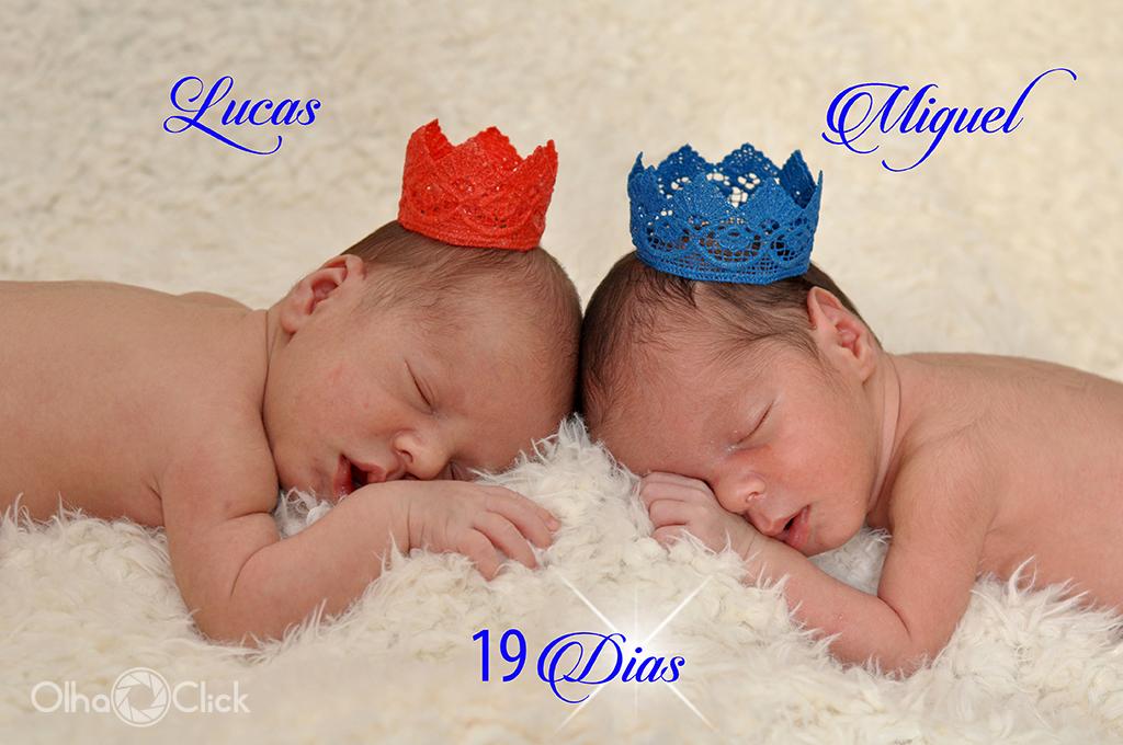 Lucas e Miguel 19 dias